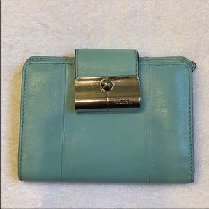 Authentic Coach bi-fold wallet